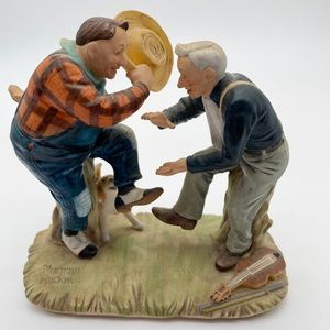 Norman Rockwell Old Timers Figurine